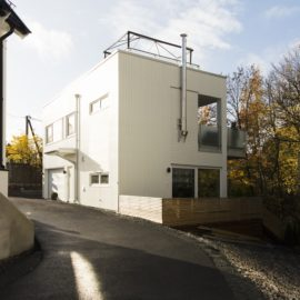Lägenhetshus av Sørkedalsveien 87