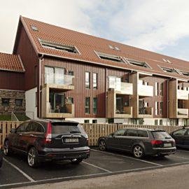 Lägenhetshus av Sørkedalsveien 254